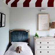 Small Bedroom with Circus Ceiling