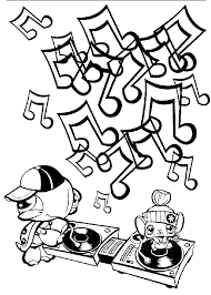 Music Coloring Page Colouring In Sheets Inside Music Coloring ...