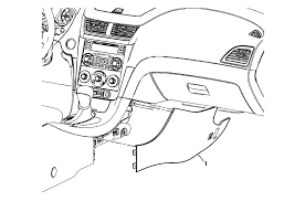how to front floor console replacement chevy bu forum grasp the extension panels 1 and pull outward disengaging the retainer clips securing the panel to the front floor console