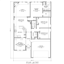 wide lot house plans bungalow shallow ft narrow exciting ideas 50 mesmerizing foot
