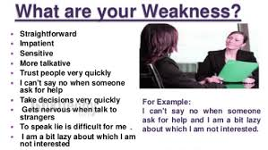 Weaknesses For Interview Examples Tell Us Some Of Your Weaknesses By Microsoft Awarded Mvp