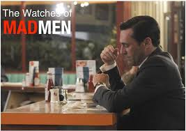 in depth the watches of mad men season five courtesy of the in depth the watches of mad men season five courtesy of the man who sourced them