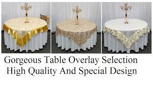gorgeous table overlays burlap vintage event decoration