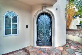 arched front doorMediterranean Front Door with Arched window by Tony Serra  Zillow