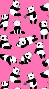 Cute Panda Pink Iphone Wallpaper ...