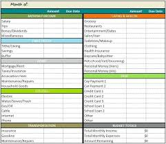 Personal Excel Budget Basic Excel Budget Template Simple Nonprofit Budget Template