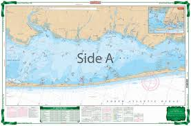 How To Read Navigation Charts Great South Bay Large Print Navigation Chart 6e