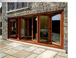 Bi Folding Glass Doors Exterior Exterior Doors Ideas