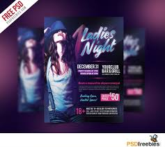 Event Flyers Free 003 Party Event Flyer Templates Free Download Ladies Night