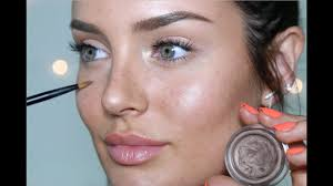 natural beauty makeup look the illusion of no foundation incl freckles