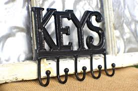 ... Decorative Key Holder For Wall Key Rack Wall Decor Key Hook Holder Car  By MichelleLisaTreasure ...
