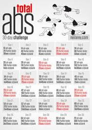 it also looks great when season rolls around this 30 day total abs fitness