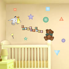 baby nursery nice wall decor ideas room with regard to decorations for 2