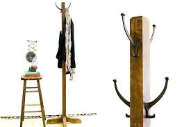 Coat Racks Standing Fascinating Wood Coat Rack Standing ActiveEscapes