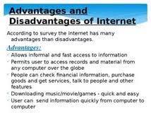 disadvantages of internet essay dissertation francais bac advantages and disadvantages of using the internet essay