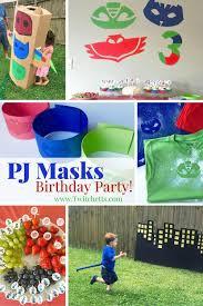 Pj Mask Party Decoration Ideas PJ Masks Party Ideas Twitchetts 24
