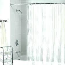 shower curtain sizes standard shower curtain standard length shower curtain rod standard size