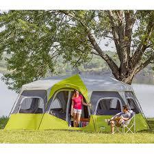 Multiple Room Tents Amazoncom Core 12 Person Instant Cabin Tent 18 X 10