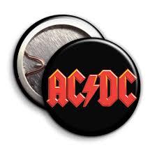 ACDC logo - Parody Badges