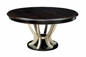 hollywood hills round 60 dining table in dark espresso champagne finish