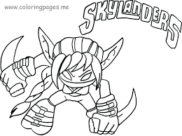 Skylanders Coloring Pages At Getdrawingscom Free For Personal Use
