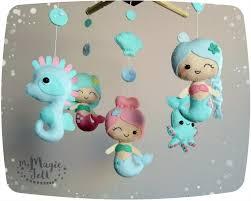 baby mobile mermaids crib mobile mermaids nursery mobile under