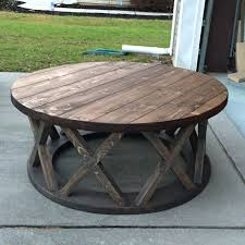42 inch round coffee table
