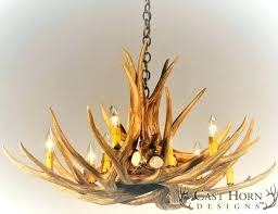 high wattage chandeliers ceilings cleaning antler chandelier faux end glass shade deer p home improvement stunning scroll to next item de
