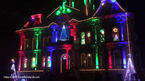 Newark Courthouse Lighting Christmas Light Show At Guernsey County Courthouse Youtube