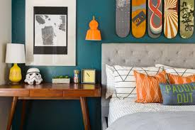 Orange Bedroom Furniture Teenage Bedroom Color Schemes Pictures Options Ideas Hgtv