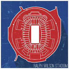 Seating Chart Bills Stadium Buffalo Bills Ralph Wilson Stadium Seating Map Poster 24