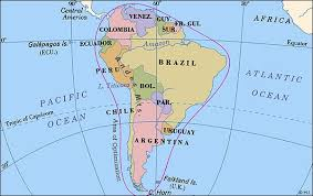 Worldpress Org World Maps And Country Profiles Map Of South America