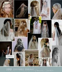 Jolie Chignon Mariage Mariee Cheveux Long Coiffure De