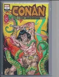 Conan Sketch Cover, in adam vansickle's Conan Sketch Covers Comic Art  Gallery Room