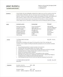 Customer Service Job Resume Objective Images Photos Job Objective