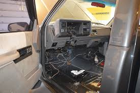 1993 c1500 project 4 3l to 7 4l swap > 454ss clone page 3 the also a great time to rid the truck of the extra wires from of a dealer installed alarm system and remote keyless entry system that never worked anyway