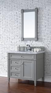 james martin brittany single 36 inch transitional bathroom vanity urban gray