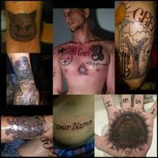 странные и неудачные татуировки Ucrazyru источник хорошего