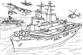 Coloring Page 55 Military Coloring Pages