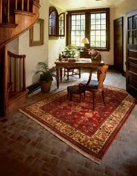 oriental rug on tile floor jpg