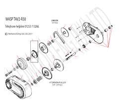wasp tav2 r30 torque converter wasp karts go kart plans go ask a question about wasp tav2 r30