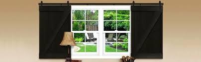 barn door window treatments photo 1 of ordinary barn door window treatments 1 sliding barn door shutters in in diy barn door window treatment