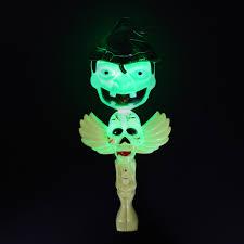 Glow Light Toys Mofun Halloween Pumpkin Glow Stick Ghost Green Light Decoration Toys Party Home Decor