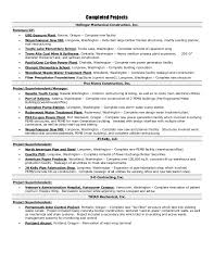 Unique Sample Construction Superintendent Resume Resume Cover Letter