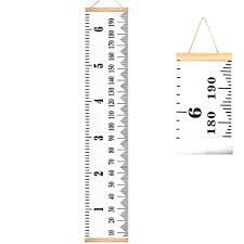 Growth Charts For Kids Accurate Baby Height Growth Chart Ruler Removable Canvas Wall Hanging