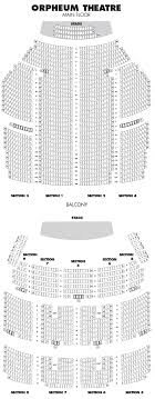 Orpheum Interactive Seating Chart Omaha Orpheum Theatre Hennepin Theatre Trust