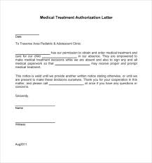 Sample Medical Authorization Letter Simple 48 Medical Authorization Letter Examples PDF