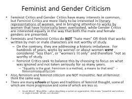 Introduction To Feminist Criticism And Gender Studies Ppt Video