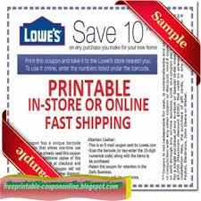 Free Print Coupons Free Printable Lowes Discount Coupons Download Them Or Print