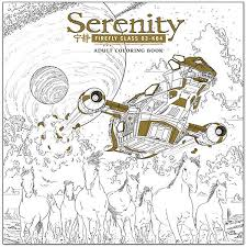 Small Picture Serenity Adult Coloring Book ThinkGeek